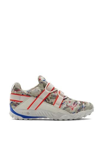 Under Armour white UA Valsetz Trek PRDS Camo Sneakers 3EE93SH293D646GS_1