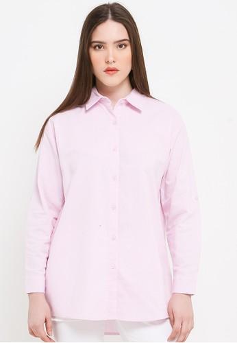 EPRISE pink Fara Shirt 4520DAA5BB303CGS_1