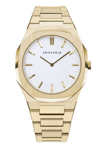 Aries Gold gold Aries Gold Prestige Edition G 1031 G-WG Gold Stainless Steel Watch B6246AC53BE33EGS_1