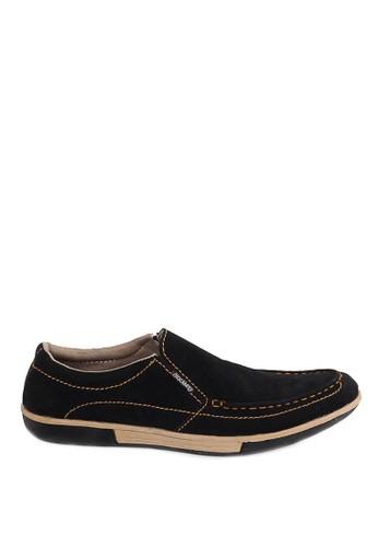 Sogno black Sepatu Slip on Pria - LIV 413  408C9SH3FC4B38GS_1