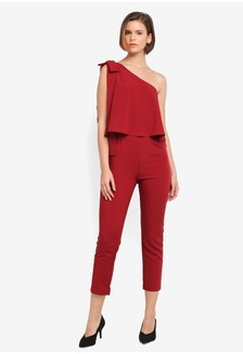 Buy womens fashion online zalora hong kong asymmetrical bow detail jumpsuit 9f12daaa2073a6gs1 zalora asymmetrical stopboris Choice Image