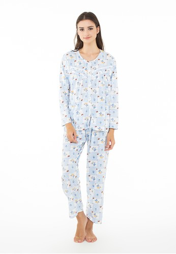 Pajamalovers Yemmy Blue
