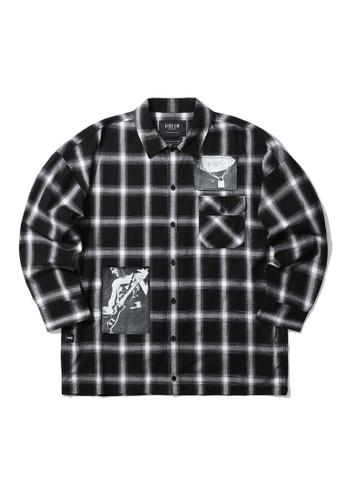 Fivecm black Instrumental shirt 1654CAA13E7280GS_1