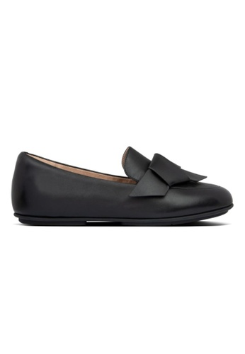 Fitflop black Fitflop Lena Knot Loafers All Black 78976SH20C5109GS_1