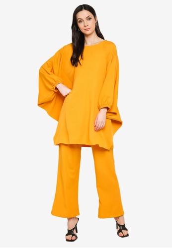 Butik Sireh Pinang yellow Zalikha Blouse Suit Kaftan C2D14AAB2AE520GS_1