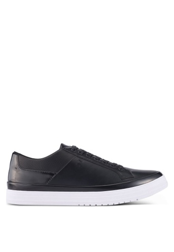 ZALORA black Mixed Materials Sneakers DCB61SH4BD730DGS_1