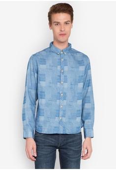 efc6bcebfca Freshgear blue Denim Chambray Long Sleeves Shirt FR757AA0K4FQPH 1