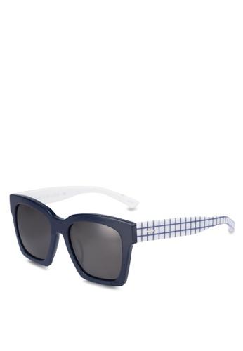 BLANC & ECLARE white New York Sunglasses B9F1AGLFBEC294GS_1