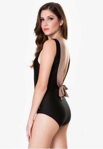 Naked Sun Swimwear black Helena High Neck Maillot NA317US0IZGUPH_1
