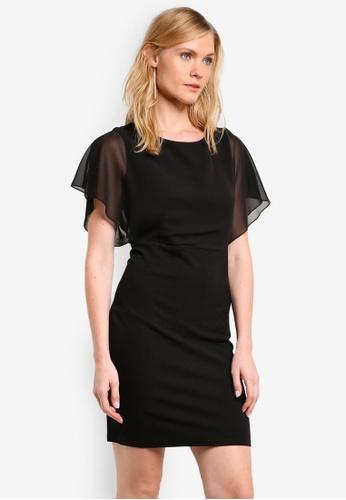 ZALORA black Essential Chiffon Bodice Dress E2C11ZZ36554D2GS_1