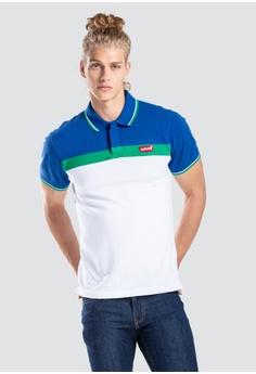 bccd3ffb13 Levi's multi Levi's Modern Housemark Polo Shirt CBB9BAA71FAC5BGS_1