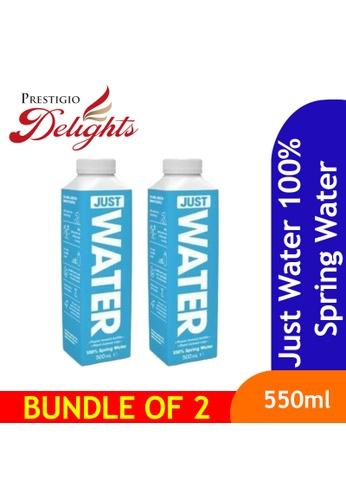 Prestigio Delights Just Water 100% Spring Water 500ml Bundle of 2 00896ESFA79C37GS_1