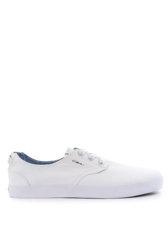 C1RCA white and navy Harvey Sneakers C1318SH92OXZPH_1