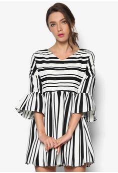 Dropped Shoulder Babydoll Dress