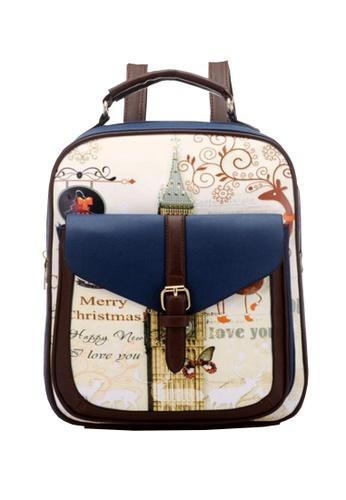 TCWK blue Ladies Backpack TC258AC65GDIMY_1