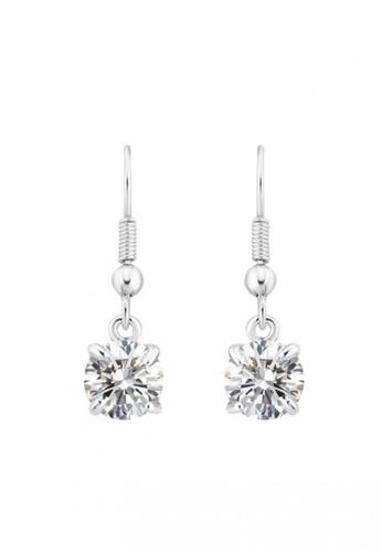 OUXI silver OUXI Earrings 21143 OU821AC98BKVMY_1