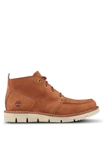 Timberland brown Westmore Moc Toe Chukka CF1F8SHBF26F73GS_1