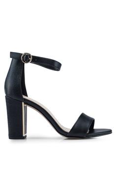 2b16ae61419 ALDO black Gwigolla Open Toe Ankle Strap Block Heels D9AD2SH66B1D42GS 1