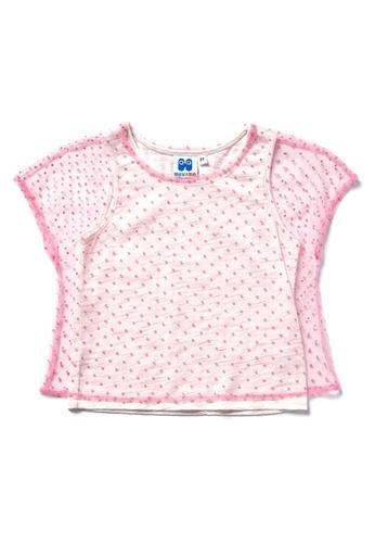 Vauva pink Vauva Hauska Girls Pink Veil Top 9AB62KA94D7776GS_1