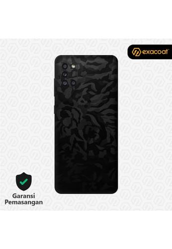 Exacoat Galaxy A31 3M Skins Camo Series - Black Camo 804D5ESD9C8466GS_1