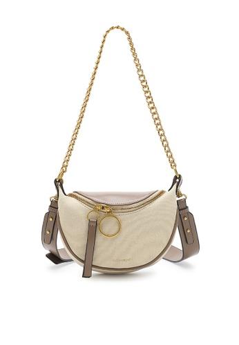 Volkswagen beige Women's Sling Bag / Shoulder Bag / Crossbody Bag EE2BBACD378153GS_1