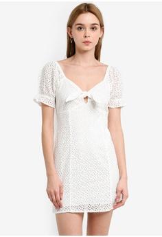 8f11ff9b28a2 Miss Selfridge white Petite Ivory Broderie Dress 2785EAA6009AD5GS_1