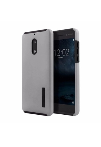 meet 12d7e 06b6a Dual Pro Shockproof Case for Nokia 6