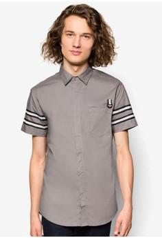 Reflective Trim Short Sleeve Shirt
