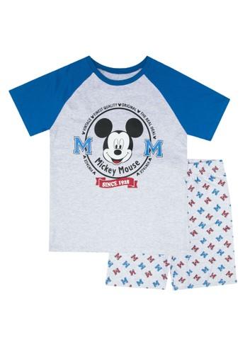FOX Kids & Baby blue Printed Pyjamas Set 892E7KA55F9B40GS_1