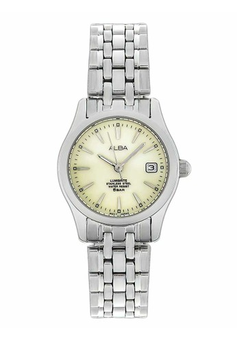 Alba silver ALBA Jam Tangan Wanita - Silver Ivory - Stainless Steel - AXT861X1 14F06ACE500555GS_1
