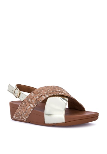ebe862df9e73 Shop Fitflop Lulu Cross Back-Strap Sandals Online on ZALORA Philippines