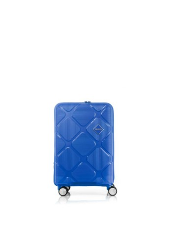 American Tourister blue American Tourister Instagon Koper Hardcase Cabin/20inch EXP TSA – Imperial Blue CE8F0ACAE698AAGS_1