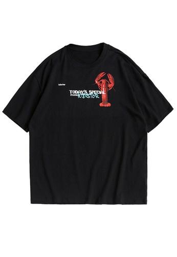 Twenty Eight Shoes Oversized Printed Short T-shirt 1546S21 B82CDAABE2C715GS_1