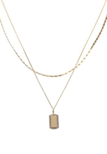 ALDO gold Eroetram Necklace 163F6ACD8661BDGS_1