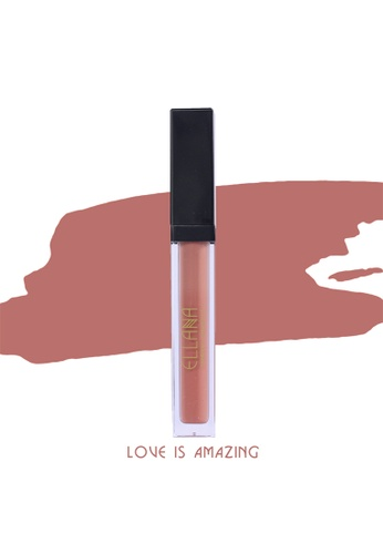 Ellana Mineral Cosmetics brown Lip In Luxe Matte Liquid Lipstick- Love Is Amazing 7EC46BE1F1789EGS_1