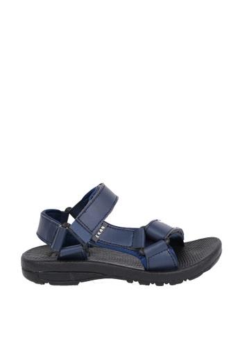 EKAN navy Belzig Youth Sandals EK228SH0FILTSG_1