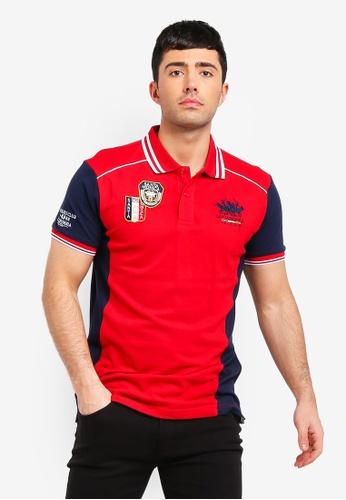 Fidelio 紅色 短袖刺繡POLO衫 76BD8AAA17E906GS_1