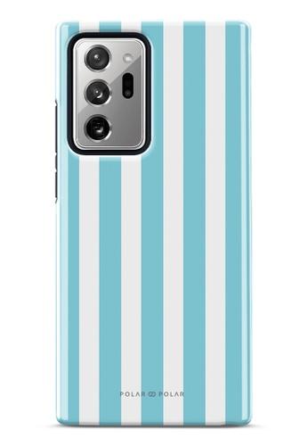 Polar Polar blue Baby Blue Stripe Dual-Layer Tough Case Glossy For Samsung Galaxy Note20 Ultra 5G 93642AC8D9C1B1GS_1