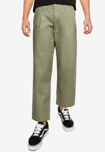 SPARROW GREEN green WESLEY French Army Chino Pants 92C8FAAA7EA626GS_1