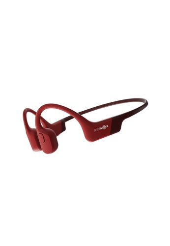 AFTERSHOKZ red AfterShokz Aeropex Bone Conduction Headphones. 158E6ES936AEB8GS_1