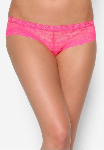 Bonds pink Galloon Hot Shortie Brief Panties BO376US49TBQMY_1