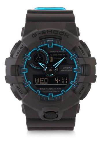 G-Shock black Men Digital Watches GA-700SE-1A2DR E25F5AC7CD15E0GS_1