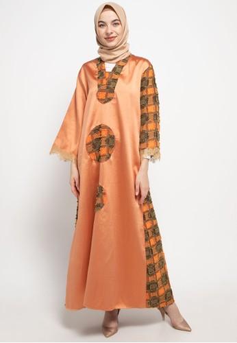 LUIRE by Raden Sirait orange Ms Gamis Stali Mlj 618FEAA771856FGS_1