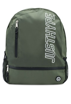 f241183422 Just Hype green Justhype Urban Backpack BD520ACD7B3923GS 1
