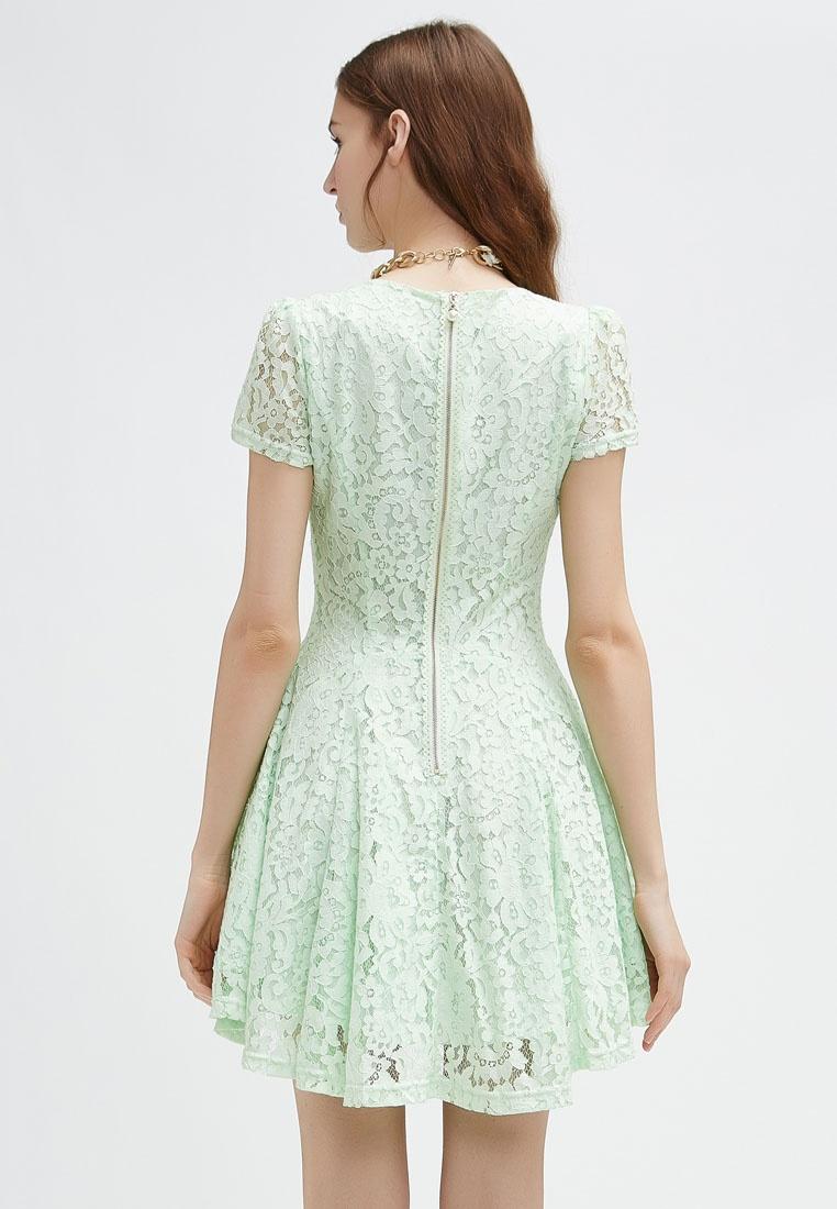 Dress Emerald Cap Sleeve Lace Green Hopeshow qBAEE7