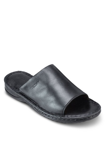 Clapton 仿皮寬帶涼鞋, 鞋esprit高雄門市, 鞋