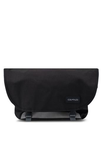 CRUMPLER black Comfort Zone Large Messenger Bag 4E5D2AC61D6455GS_1