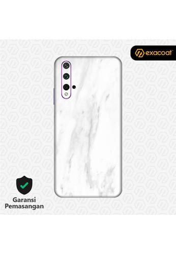Exacoat Huawei Nova 5T 3M Skins Stone Series - Marble White 4747BES5384D87GS_1