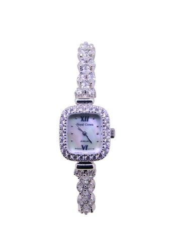 Sk Time Watch Shop silver Japan Design Silver Plating Lady Fashion Bracelet Crystal Watch SK518AC84WRVPH_1