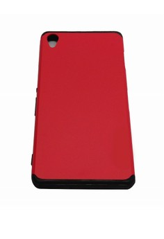 OEM Sleek Shockproof Case for Sony Xperia Z2 (Red)